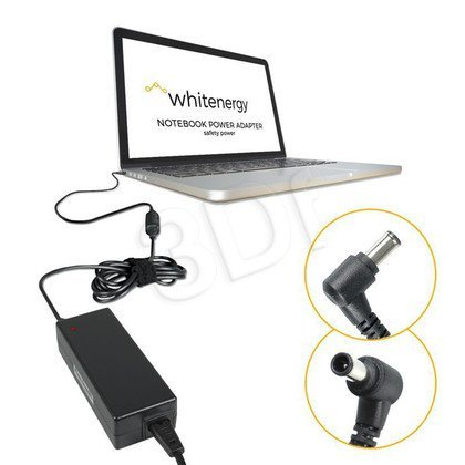 WHITENERGY ZASILACZ AC DO LAPTOPA HP ENVY 19.5V 4.62A 4.5X3.0 MM