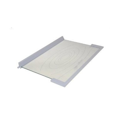 Półki na plastikowe i druciane r Półka szklana chłodziarki ART Whirlpool (481246678418)