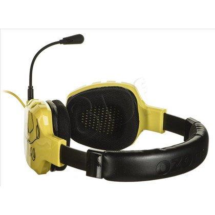 Słuchawki wokółuszne z mikrofonem OZONE RAGE ST (Żółto-czarne)
