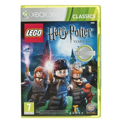 Gra Xbox 360 Lego Harry Potter 1-4 Classic