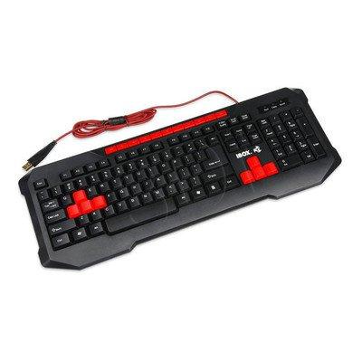 I-BOX Klawiatura przewodowa Aurora Gaming czarna