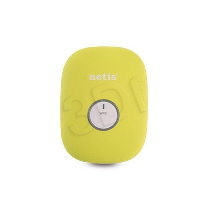 NETIS REPEATER E1+ (GREEN) WIFI B/G/N300 + RJ45, MINI, DO GNIAZDKA 230V