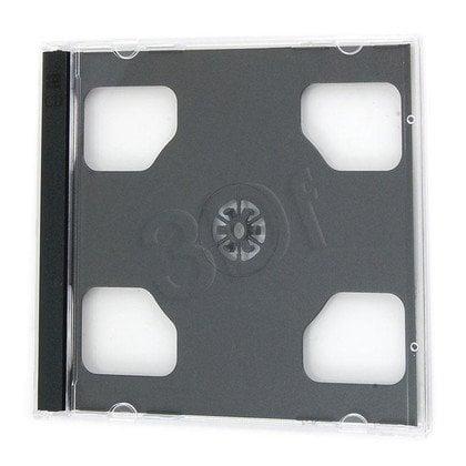 PUDEŁKO NA 2SZT CD JEWEL CASE BLACK KARTON 200szt