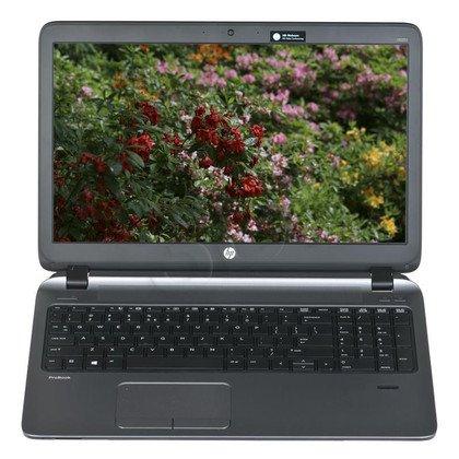 """HP ProBook 450 G2 i3-5010U 4GB 15,6"""" HD 500GB HD5500 Win7P Win8.1P Czarny L8B40ES 3Y"""