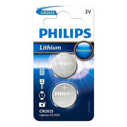 Bateria Pastylkowa PHILIPS CR2025P2/01B Lithium (2szt)