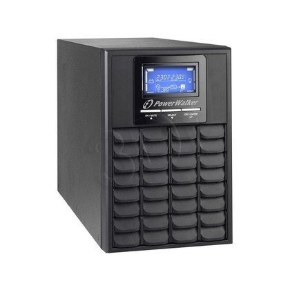 POWER WALKER UPS ON-LINE 1000VA 3X IEC OUT, USB/RS-232, LCD, TOWER