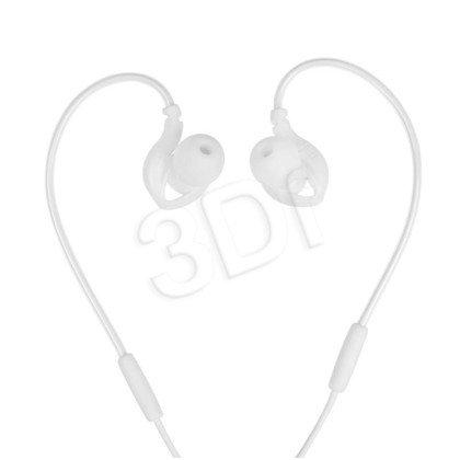 Słuchawki douszne z mikrofonem I-Box S1 Sport (biały)