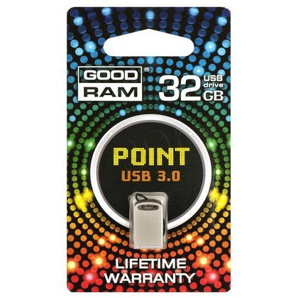 Goodram Flashdrive POINT 32GB USB 3.0 Kremowy