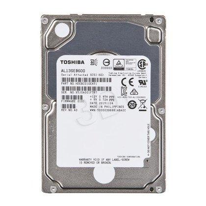 Dysk HDD TOSHIBA AL13SEB600 600GB SAS-2 64MB 10500obr/min