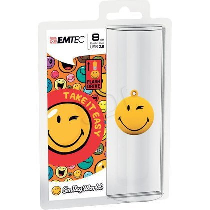 EMTEC FLASH SW100 8GB USB2.0 TakeItEasy Yellow