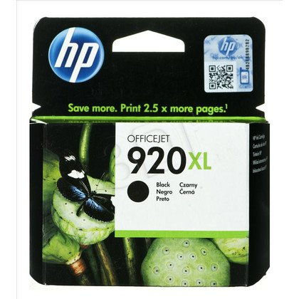 HP Tusz Czarny HP920XL=CD975AE, 1200 str., 49 ml
