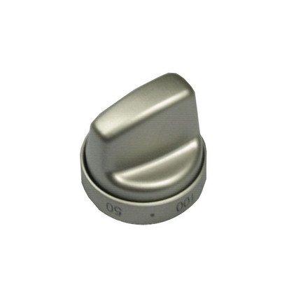Zespół pokrętła do termostatu od 50-250 stopni - srebrne CMG610/09.2709.01 inox (9030939)
