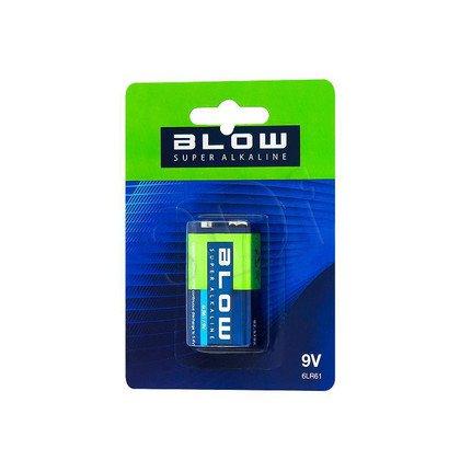 BLOW BATERIA SUPER ALKALINE 9V 6LR61 BLISTER