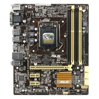 ASUS B85M-G Intel B85 LGA 1150 (PCX/VGA/DZW/GLAN/SATA3/USB3/DDR3) mATX