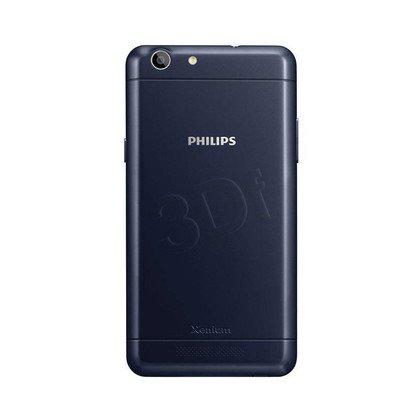 """Smartphone Philips Xenium 8GB 5"""" granatowy"""