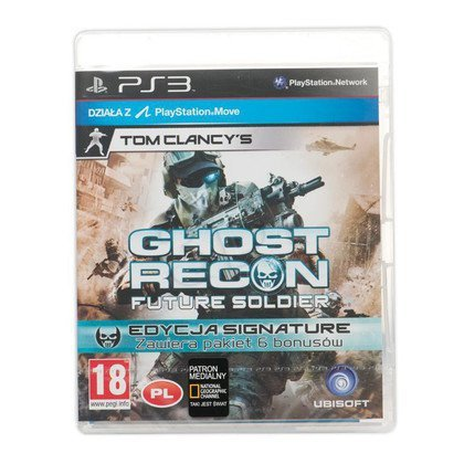 Gra PS3 Ghost Recon Future Soldier