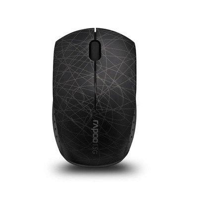 RAPOO Mysz bezprzewodowa optyczna 3300P 1000dpi czarna
