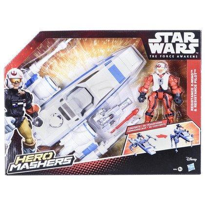 SW STAR WARS E7 HERO MASHERS FIGURKA Z POJAZDEM HASBRO B3701
