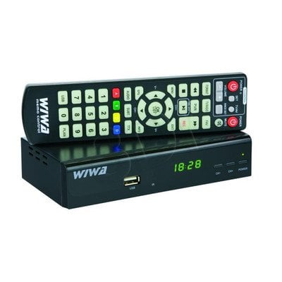 TUNER DVB-T WIWA HD 90 MC MPEG4 & HD MEDIA PLAYER