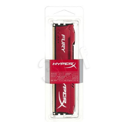 KINGSTON HyperX FURY DDR3 4GB 1600MHz HX316C10FR/4