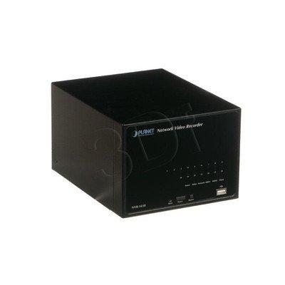 PLANET [ NVR-1610 ] Sieciowy Rejestrator Video dla 16 kamer IP [ LAN Gigabit ][ 2x SATA II - bez dysków ]
