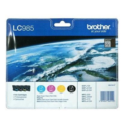 BROTHER Tusz LC985VALBP=LC-985VALBP (WYPRZEDAŻ)
