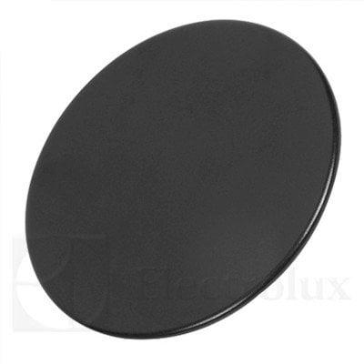 Czarna pokrywka dużego palnika płyty grzejnej (3540139072)