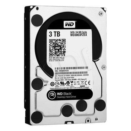 HDD WD CAVIAR 3TB WD3003FZEX SATA III 64MB CACHE
