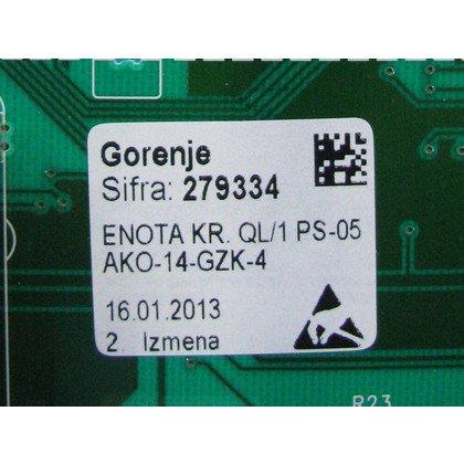Moduł elektroniczny skonfigurowany do pralki (279334)