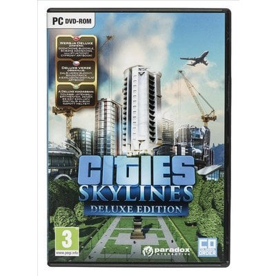 Gra PC Cities Skylines Deluxe Edition