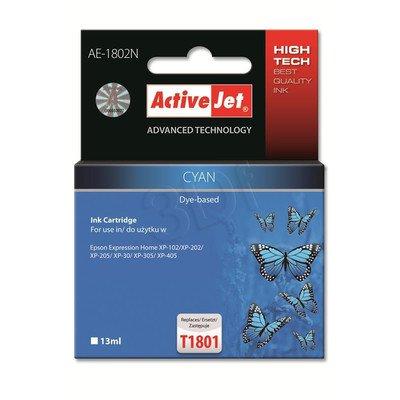 ActiveJet AE-1802N tusz cyan do drukarki Epson (zamiennik Epson T1802) Supreme