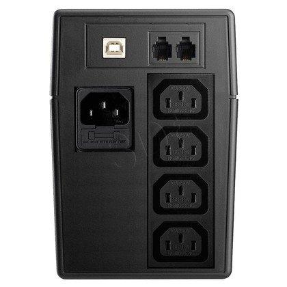 LESTAR UPS MCL-855U 800VA/480W AVR LCD 4XIEC USB RJ 11