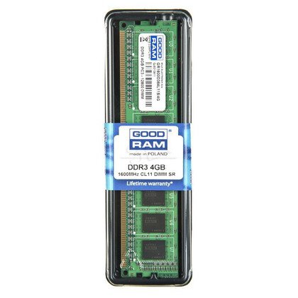 DDR3 4GB PC3-12800 (1600MHz) CL11 GOODRAM 512x8