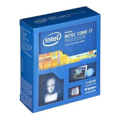 PROCESOR CORE i7-5820K 3.30GHz LGA2011 BOX