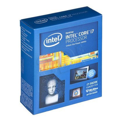 PROCESOR CORE i7-5820K 3.30GHz LGA2011 BOX