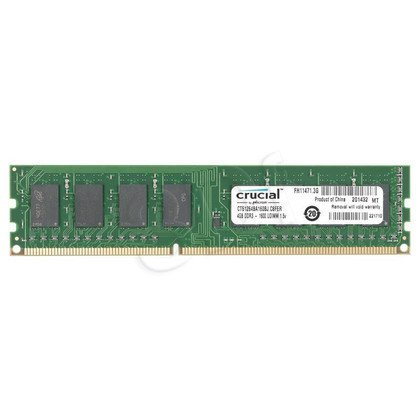 Crucial DDR3 UDIMM 4GB 1600MT/s (1x4GB) CT51264BA160BJ
