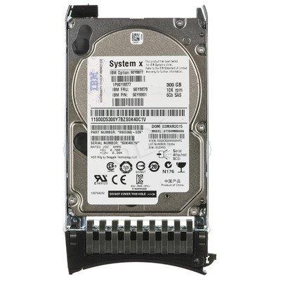 """Dysk HDD IBM SFF G2HS 2,5"""" 300GB SAS 10000obr/min Kieszeń hot-swap 90Y8877"""