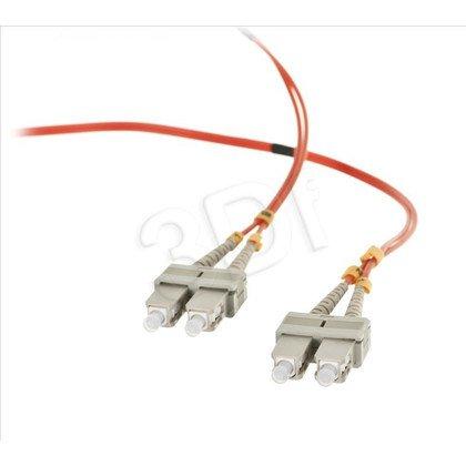 ALANTEC patchcord światłowodowy MM LSOH FOC-SCSC-5MMD-2 2m SC-SC duplex 50/125 pomarańczowy