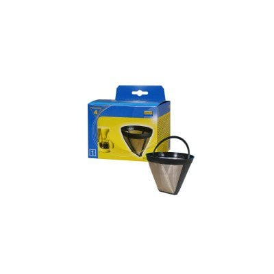 Metalowy filtr stały do kawy