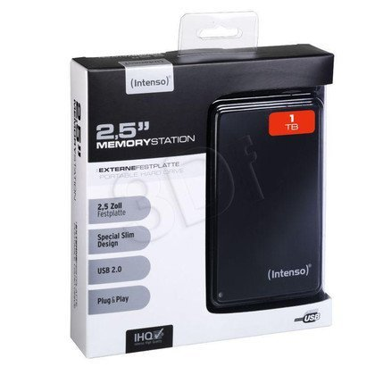 "HDD INTENSO 1TB 2,5"" MEMORYSTATION BLACK ZEW"