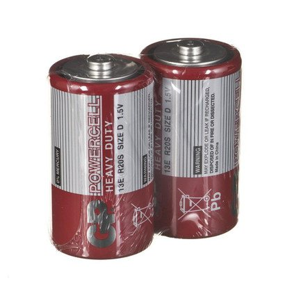 GP Bateria cynkowo- węglowa R20S blister 2szt.