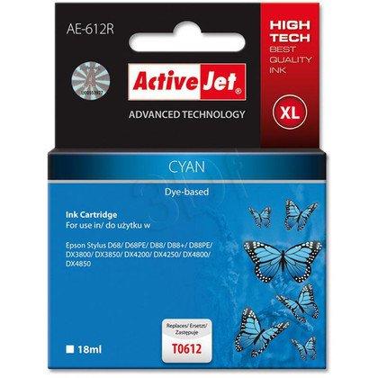 ActiveJet AE-612R (AER-612) tusz cyan do drukarki Epson (zamiennik T0612)