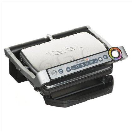 Grill elektryczny Tefal OptiGrill (2000W stołowy-zamykany, Inox-czarny)