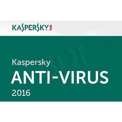 Kaspersky Anti-Virus 2016 ESD 3D/12M upg