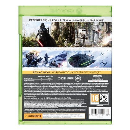 Gra Xbox ONE Star Wars Battlefront + Bitwa o Jakku