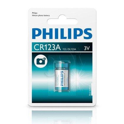 Bateria Foto PHILIPS CR123A/01B 3V Lithium