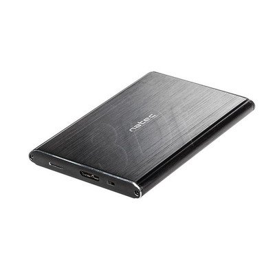 "NATEC OBUDOWA USB 3.0 SSD 2.5"" SATA RHINO PRO BLACK ALUMINIUM"