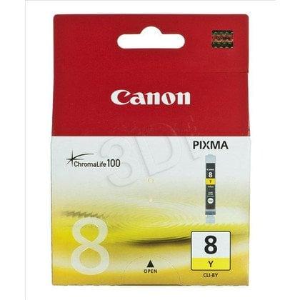 CANON Tusz Żółty CLI-8Y=CLI8Y=0623B001, 420 str.