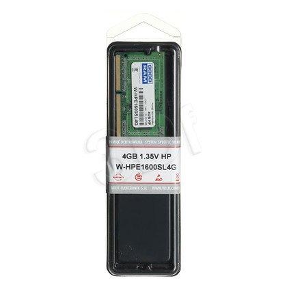GOODRAM DED.NB W-HPE1600SL4G 4GB 1600MHz DDR3 1,35V