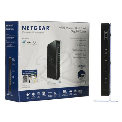 NETGEAR WNDR4500 Router DualBand N900 2xUSB